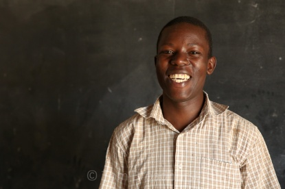 Julius is a proud teacher at Kamununku Primary school in Uganda.