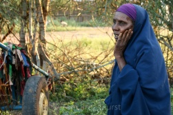 This lady recounts her former role as a FGM practitioner in Ethiopia's Somali region. With support from charities Pastoralist Concern and Oxfam Intermón, she now has an alternative livelihood renting out a donkey cart. Copyright Tom Broadhurst.