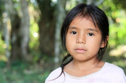 Tacana girl, Bella Altura, Bolivia. The Tacana people have a rich tradition of environmental stewardship. Organisations such as Conservation International support them to continue to lead sustainable lifestyles, and so preserve their forest home. Copyright Tom Broadhurst.